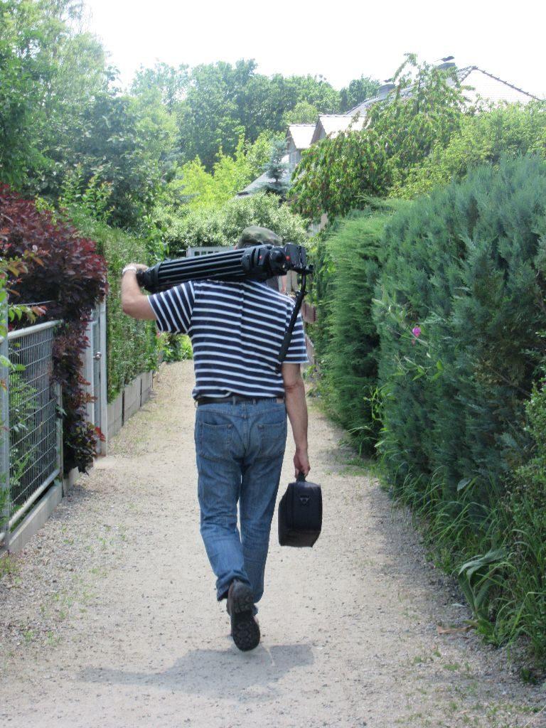 lonesome Cameraman...